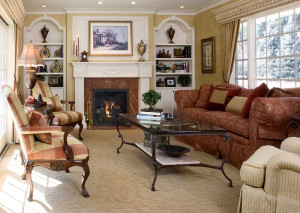 Living room space planning