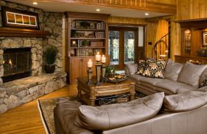 Mountain living spaces, Colorado interior design
